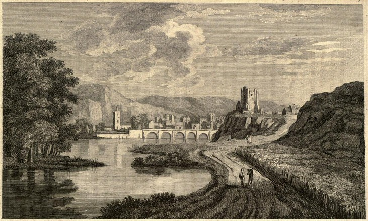 Illustration of Inverness in 1771